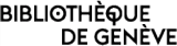 Logo Genève, Bibliothèque de Genève